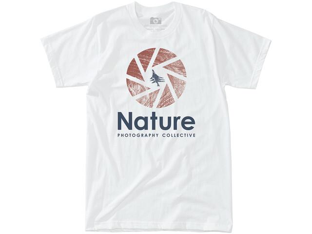Hippy Tree Shutter T-paita Miehet, white